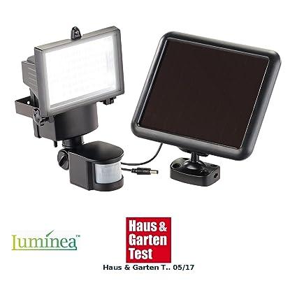 LED Wand-Lampe Fluter mit Bewegungsmelder und Akku 3er Set