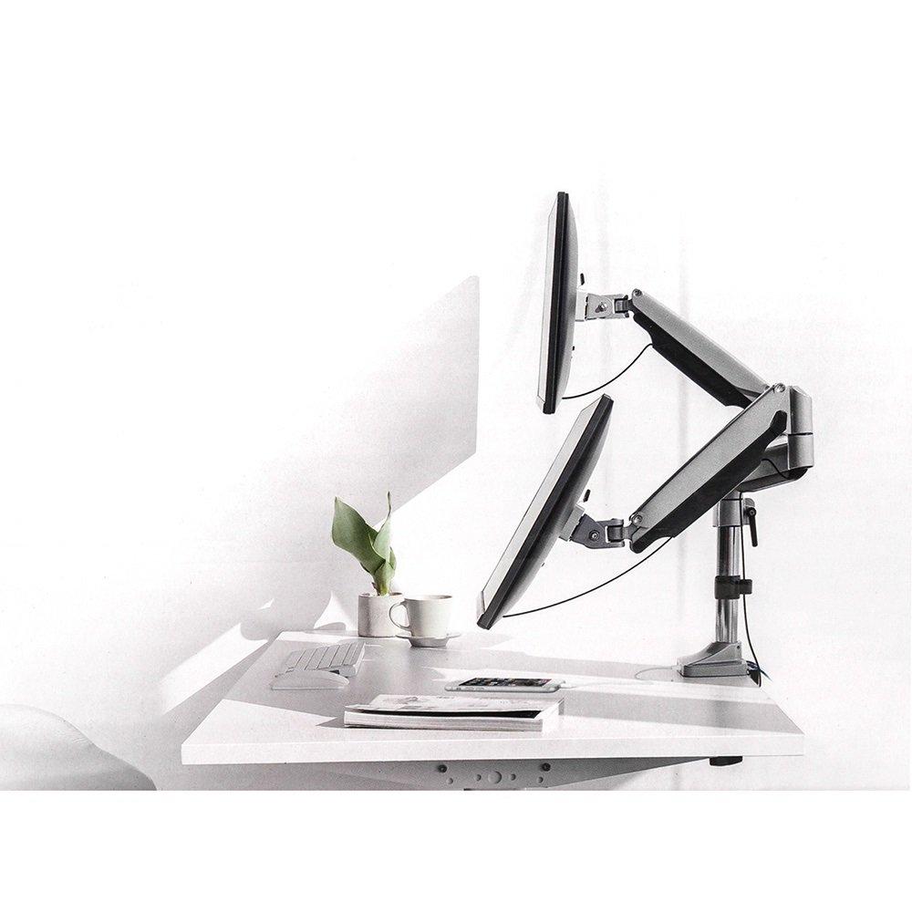 Zulage f/ür Monitorhalterungen Maclean MC-764 Laptop Halterung von 23 bis 42 cm