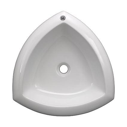 Renovator S Supply White Above Counter Bathroom Vessel Sink