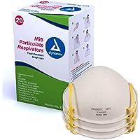 20-Pack Dynarex N95 Particulate Respirator Mask (Molded)