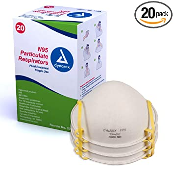 Pack Respirator 3m 8612f Fda Approved Flu Of N95 Mask Particulate