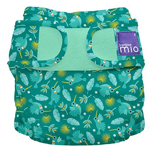 Bambino Mio Miosoft Cloth Diaper Cover, Hummingbird, Size 2