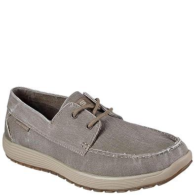 f6da8f7a0db54 Skechers Venick Romeno Mens Boat Shoe Oxfords