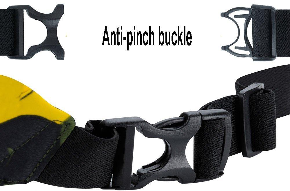 Sima Palace Waist Bag Waterproof Belt Pouch,Hip Belt Pouch for Outdoors Running Camping Trekking Hiking