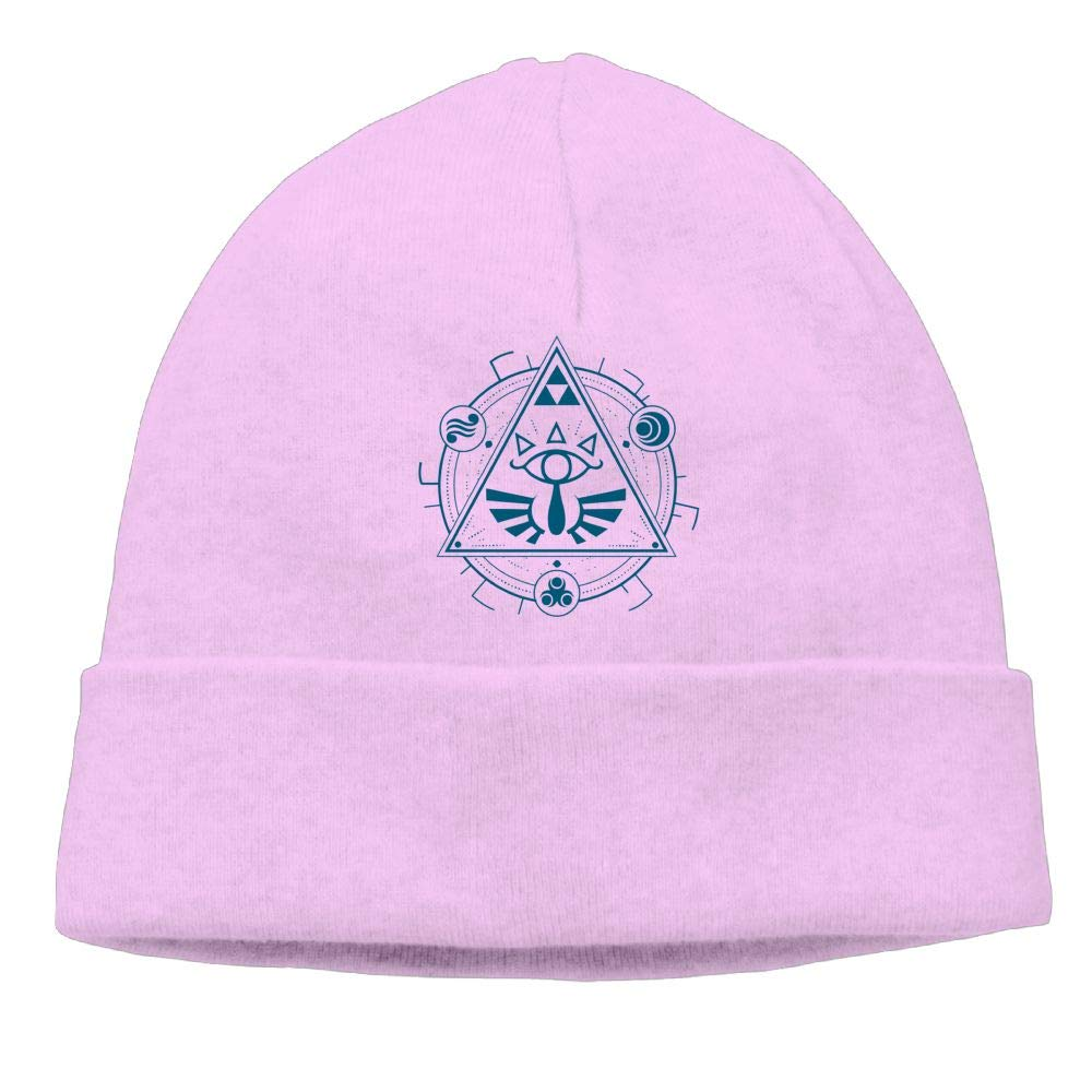 Michgton Interesting Geometry Mandala Beanie Hat Knit Caps Mens Slouchy Soft