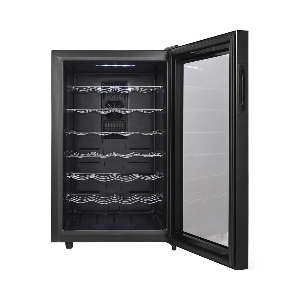 sc 1 st  Amazon.com & Amazon.com: Magic Chef MCWC28B 28-Bottle Wine Cooler: Kitchen u0026 Dining pezcame.com