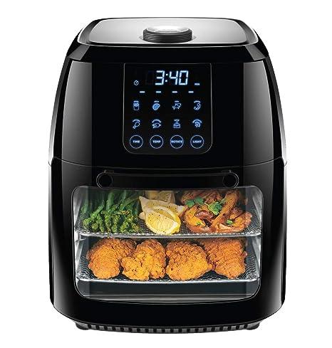 Amazon.com: Chefman freidora de aire digital de 6.3 cuartos ...