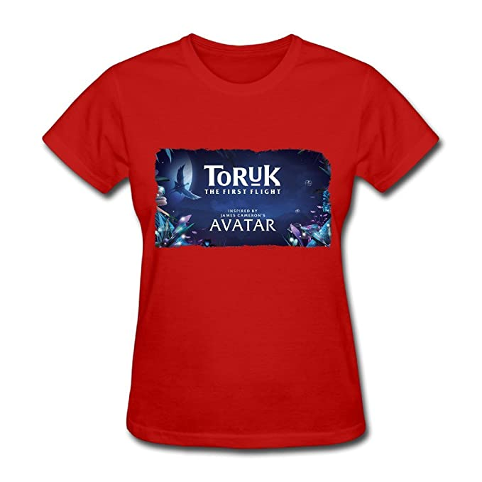 baffe92cd3e9 Mouone 2016 Toruk - The First Flight Playera para Mujer - Rojo - XX ...