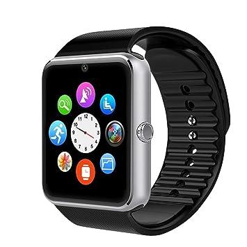 Willful - Reloj inteligente, smartwatch para Android y iOS con Bluetooth, reloj de seguimiento