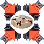 90 Degree Angle Clamps , Woodworking Corner Clip, Right Angle Clip