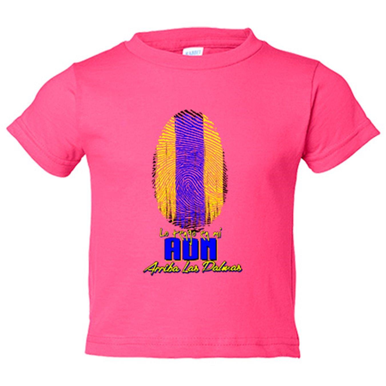 Camiseta niño lo tengo en mi ADN Las Palmas fútbol - Amarillo, 3-4 años: Amazon.es: Bebé