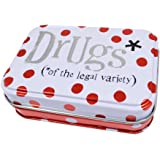 Drugs of the Legal Variety Storage Tin by The Bright Side