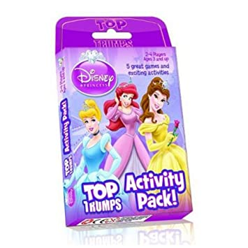 disney princess top trumps activity pack game