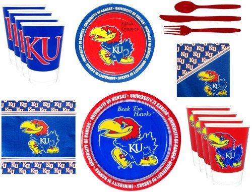 (Kansas Jayhawks Party Supplies Pack)