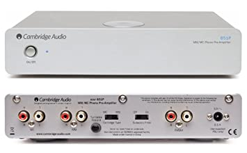 Amazon.com: Cambridge – Azur 651P mm/MC preamplificador ...