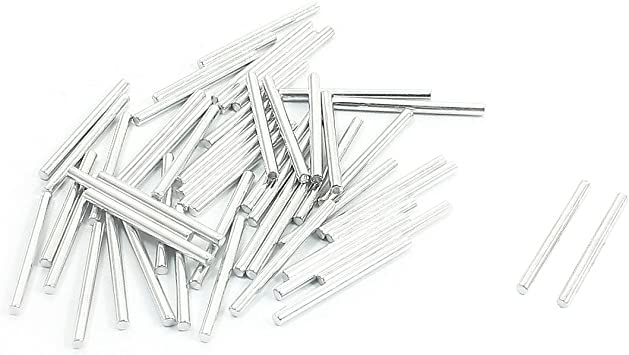 50Pcs Spare Part Stainless Steel Round Rod Bar 25mmx2mm for RC Toy Car