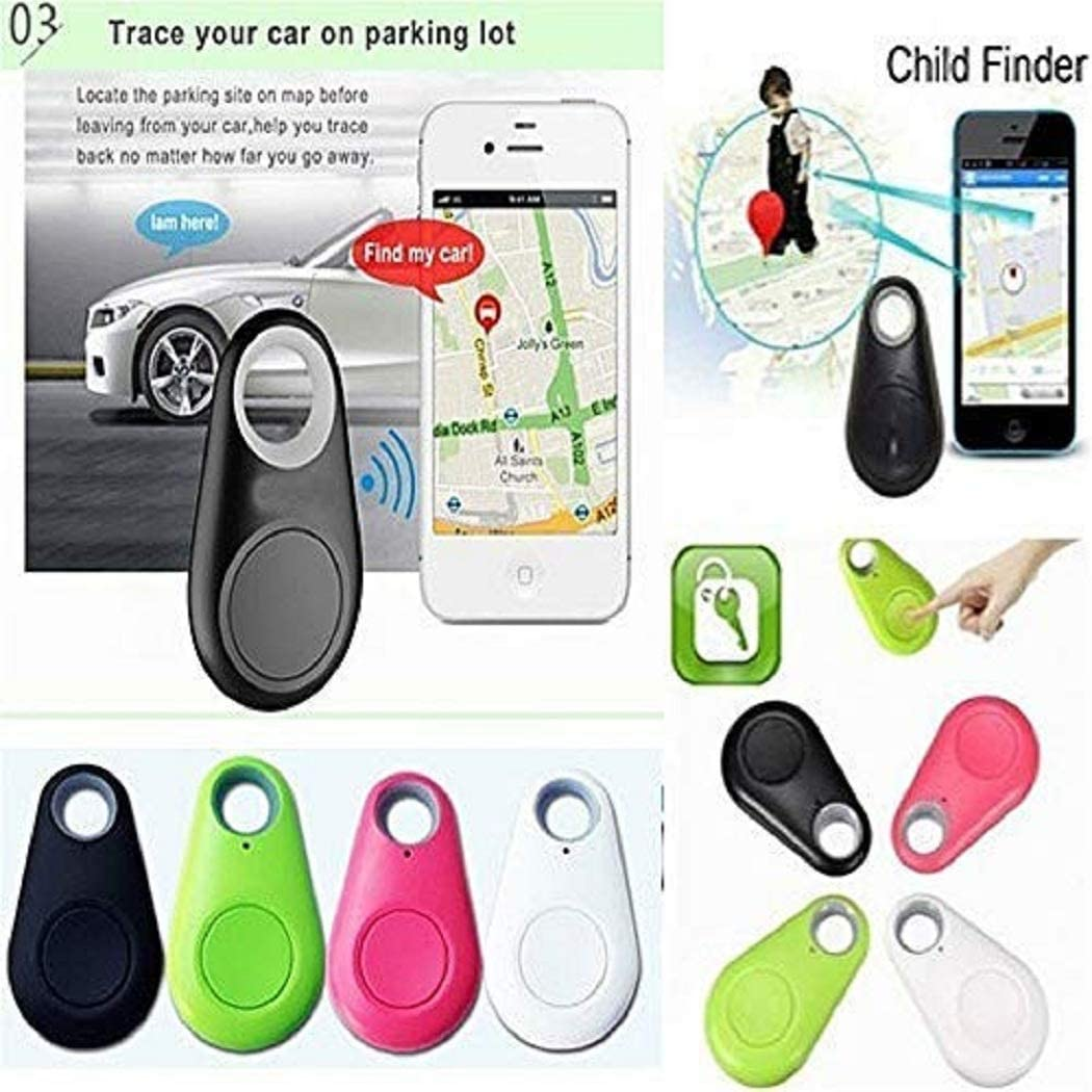 Iiloens Smart Bluetooth-Tracer GPS Locator Tag Alarm Brieftasche wichtige Haustier Hund-Tracker Wander /& Outdoor GPS-Ger/äte
