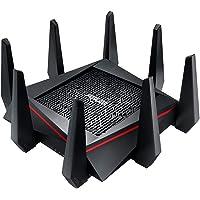 Asus RT-AC5300 Wireless AC5300 Tri-Band MU-MIMO Gigabit Router (Black)
