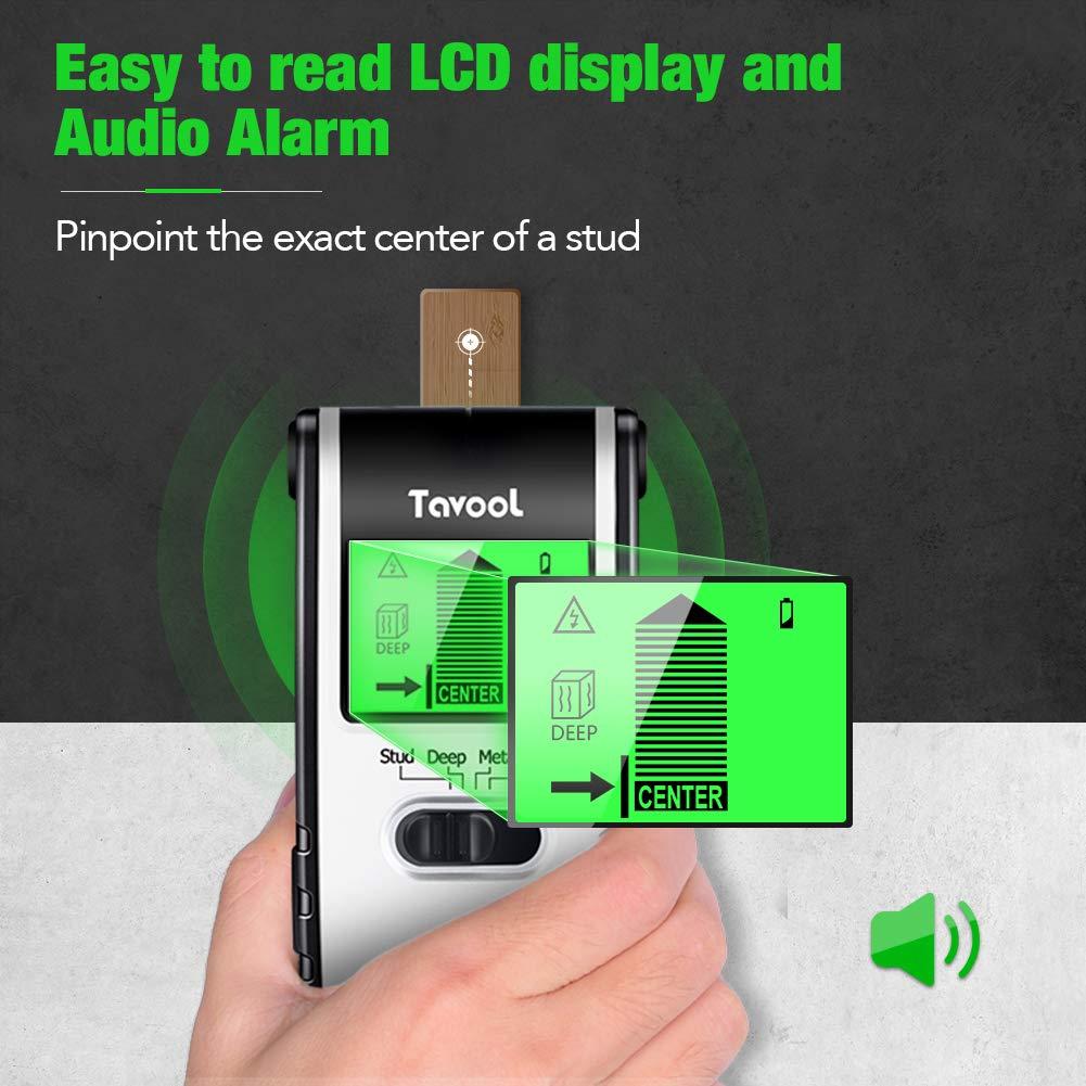 Sourcingmap D/étecteur de clou mural 4 en 1 avec d/étecteur /électronique de clou pour bois et scie de bois