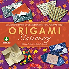 Make beautiful, hand-made origami envelopes, note cards and other stationary with this great origami ebook!One of the casualties of the digital age is the elegance of a handwritten note. World renowned origami artist Michael LaFosse introduce...
