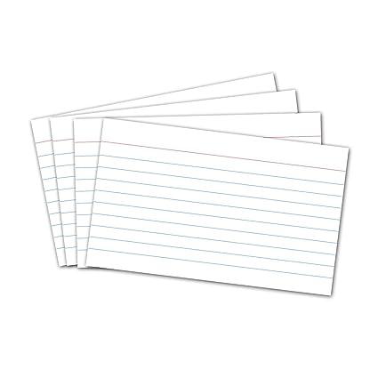 Colorido Tarjetas de cartulina NUOLUX Fichas para notas para la oficina de la escuela