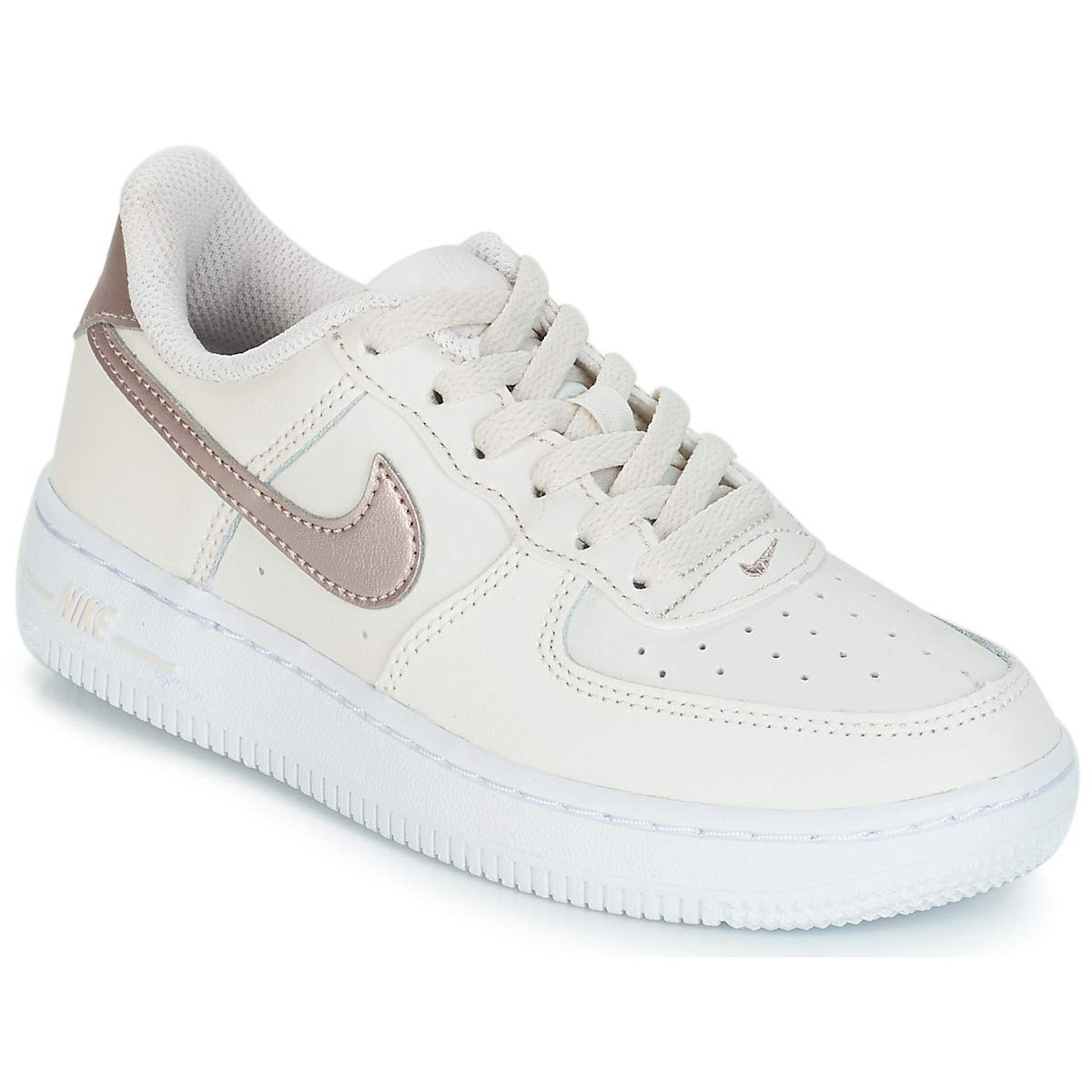 differently 0c013 7176d Amazon.com   Kids  Nike Air Force 1 LV8 (GS) Basketball Shoes (6.5 Big Kid  M, Anthracite Anthracite-Stealth)   Basketball