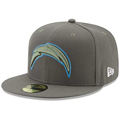 big sale 330ba 191b7 New Era 59Fifty Hat Los Angeles Chargers NFL On-Field Salute to Service Cap  (