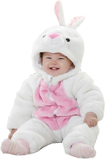 Disfraz de Conejo de Manga Larga de 3 a 24 m para bebé Multicolor ...