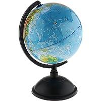 HOMYL 30cm Spinning World Globe Educational Learning Toys Kits in Korean Language