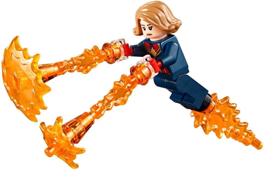 LEGO Avengers Marvel Superheroes Endgame Captain Marvel with Power Blast Effects