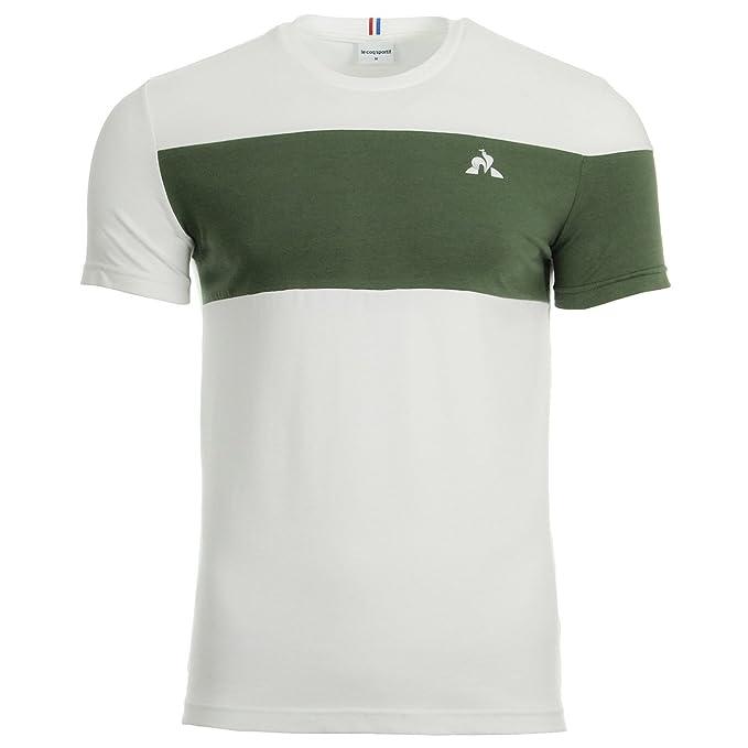 Le Coq Sportif Ess Saison Tee SS N2, Camiseta - XXL: Amazon.es ...