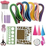 23 in 1 Quilling Kits Collection with Quilling Paper 5 mm (XLB)