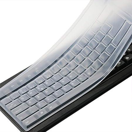 CASEBuy Universal Anti polvo impermeable de silicona teclado teclado cubierta protector piel para ordenador de sobremesa