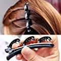 Fashion Double Layer band Twist Plait Clip /Front hair clips hairpin Beauty Tool Fashion Accessory