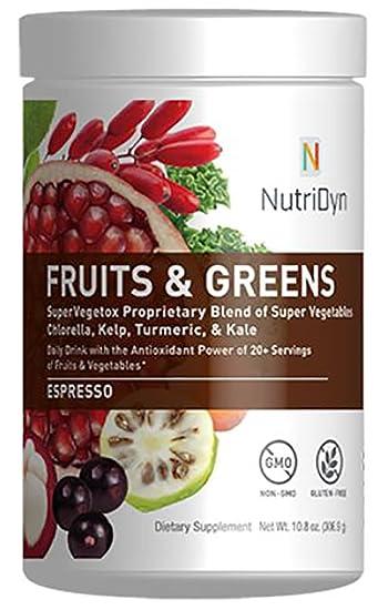Amazon.com: Súper frutas Fruits & Greens de ...