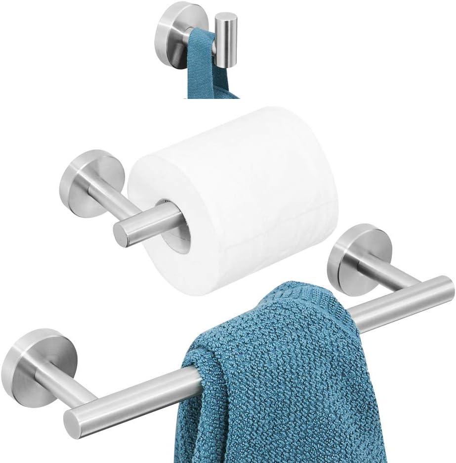 Neuartig Geb/ürstet Gold Finished Toilettenrollenhalter Rostfrei zum Bohren WOMAO WC Toilettenpapierhalter Rollenpapierhalter aus Edelstahl