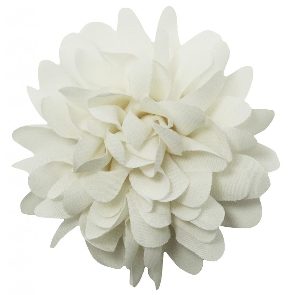 Amazon Wholesale Princess 35chiffon Fabric Flower Hair Clip