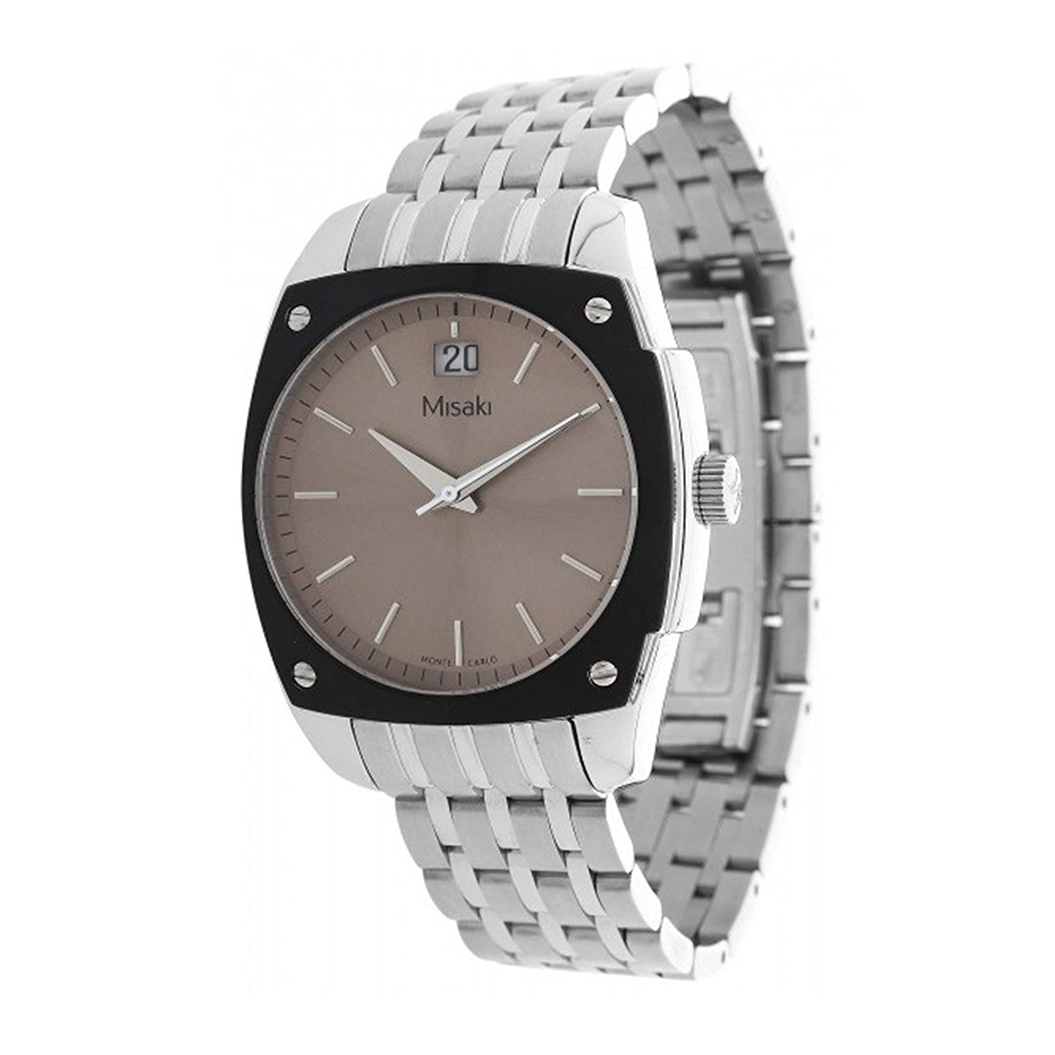 dial watches misaki s mesh white the minimalist fossil men watch