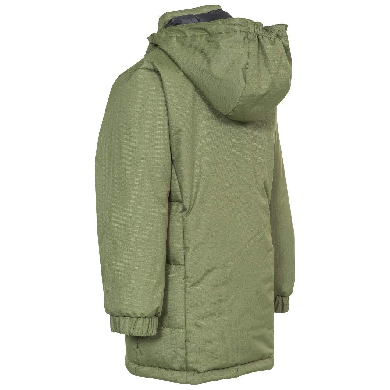 Trespass Girls Primula Waterproof Hooded Padded Walking Jacket Coat