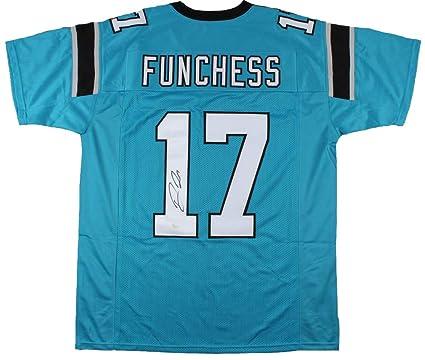 finest selection 61b41 f232c Devin Funchess Signed Carolina Panthers Jersey (JSA) at ...