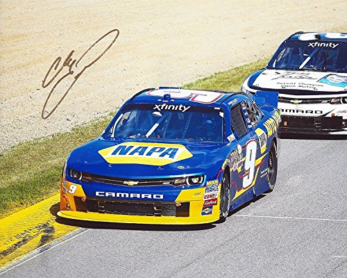 AUTOGRAPHED 2015 Chase Elliott #9 NAPA Auto Parts Team ROAD COURSE RACING (Xfinitiy Series Camaro) JR Motorsports Signed Picture NASCAR 8X10 Inch Glossy Photo with (Camaro Road Racing)