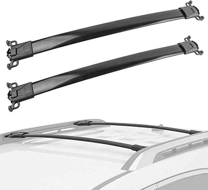 Compatible with Complete Modula Square Bar Roof Rack System Chevrolet Cruze 2011 to 2016