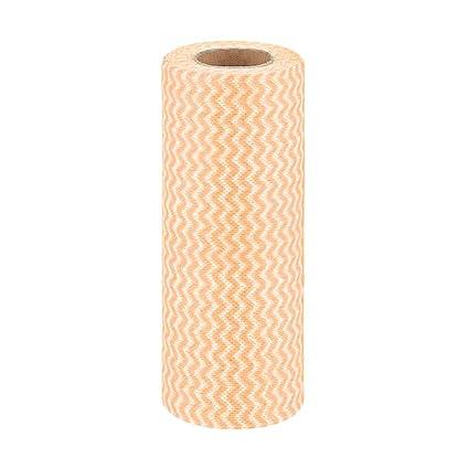 1 rollo de toalla de lavado ecológica antiadherente para limpiar aceites, telas no tejidas,