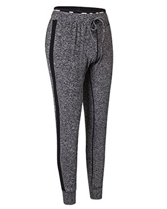 ZhuiKun Mujer Deporte Elásticos Running Yoga Chándal Pantalones ...