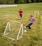 Junior Soccer Goal Set with High-Impact Vinyl Nets