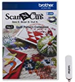 Brother CAUSB1 ScanNCut USB No. 1 Quilt Pattern Collection