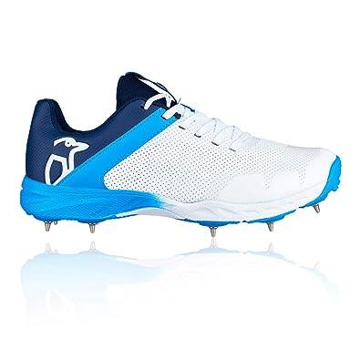 Kookaburra 2019 KC 2.0 Kids Junior Cricket Shoe Spike WhiteBlue