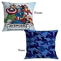 Almofada Decoração Marvel Avengers 40cm x 40cm - Zonacriativa