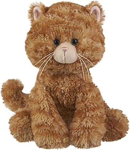 "Ganz Plush Stuffed Toy 10/"" Callie Orange Striped Cat"