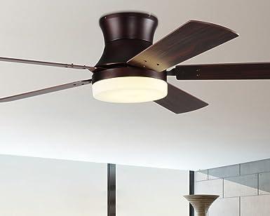 Ultra Delgada ventilador de techo, lámpara LED simple moderna ...